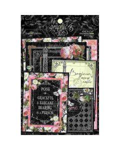 Elegance Ephemera & Journaling Cards - Graphic 45