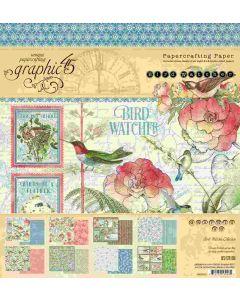 "Bird Watcher 8"" x 8"" Paper Pad - Graphic 45*"