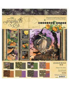 """Midnight Tales 8"""" x 8"""" Paper Pad - Graphic 45"""