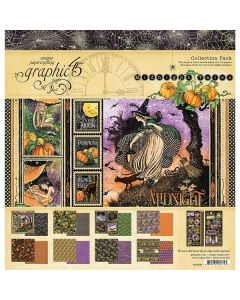 """Midnight Tales 12"""" x 12"""" Collection Pack - Graphic 45"""