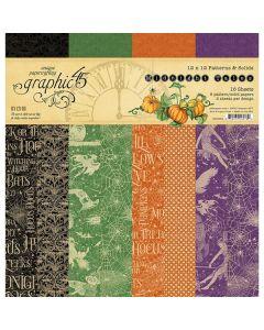 "Midnight Tales 12"" x 12"" Patterns & Solids Pad - Graphic 45"