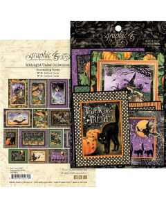 Midnight Tales Journaling Cards - Graphic 45