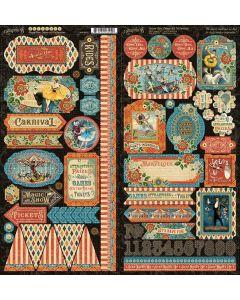 Come One, Come All! Stickers - Graphic 45