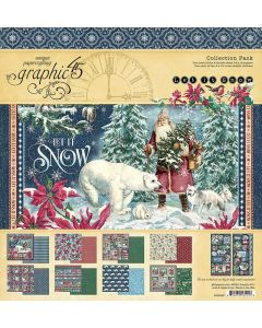 """Let it Snow 12"""" x 12"""" Collection Pack - Graphic 45"""