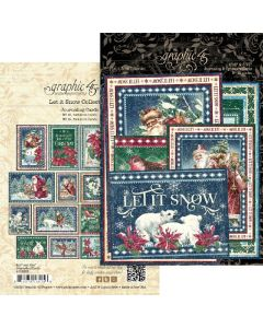Let it Snow Journaling Cards - Graphic 45