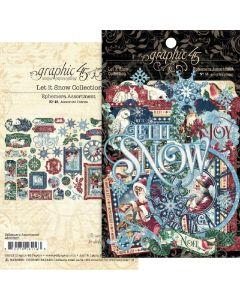 Let it Snow Ephemera Assortment - Graphic 45