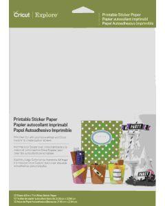 Cricut Explore Printable Sticker Paper
