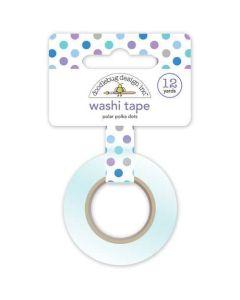 Polar Polka Dots Washi Tape - Winter Wonderland - Doodlebug Design *