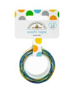 Beach Balls Washi Tape - Party Time - Doodlebug*