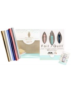 Foil Quill 4th of July Bundle: All-in-One Kit, Mat, Holiday USB Drive, Foil - We R Memory Keepers