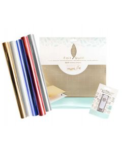 Foil Quill Patriotic Supplies Bundle: Mat, Holiday USB Drive, Foil - We R Memory Keepers