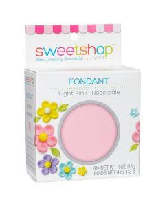 Light Pink Fondant, 4 oz - Sweetshop*