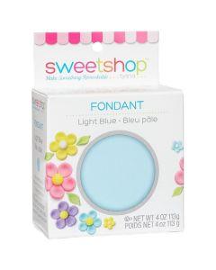 Light Blue Fondant, 4 oz - Sweetshop*