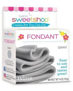 Gray Fondant, 4 oz - Sweetshop*