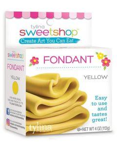 Yellow Fondant, 4 oz - Sweetshop*
