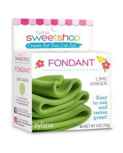 Lime Green Fondant, 4 oz - Sweetshop*
