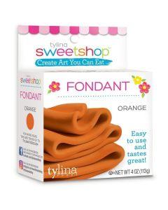 Orange Fondant, 4 oz - Sweetshop*