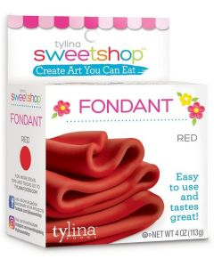 Red Fondant, 4 oz - Sweetshop*
