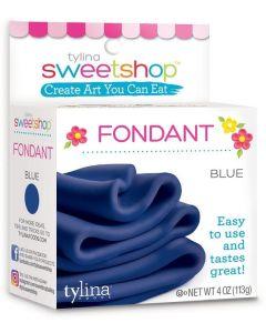 Blue Fondant, 4 oz - Sweetshop