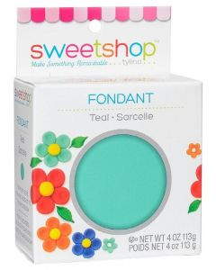 Teal Fondant, 4 oz - Sweetshop