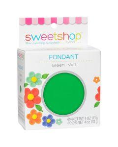 Green Fondant, 4 oz - Sweetshop*