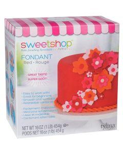 Red Fondant, 1 lb - Sweetshop