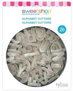 Mini Alphabet Fondant Cutters - Sweetshop