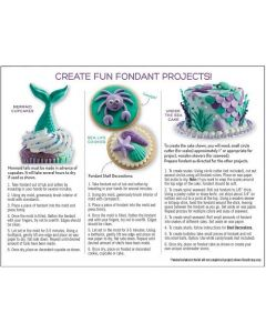 Mermaid Fondant Kit - Sweetshop