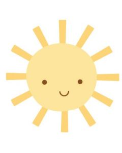 Sunshine Sweet Rolls Mini Icons Stickers - Spring Garden - Doodlebug