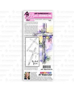 Rugged Crosses Bible Journaling Clear Stamps - Art Impressions