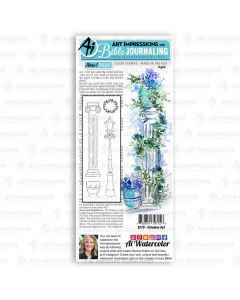 Columns Bible Journaling Clear Stamps - Art Impressions