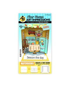 Kitchen Stamps & Dies Set - Matchbooks - Art Impressions*