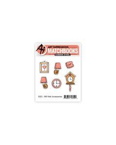 Wall Accessories Stamps & Dies Set - Matchbooks - Art Impressions*