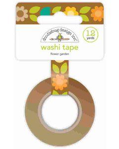 Flower Garden Washi Tape - Pumpkin Spice - Doodlebug*