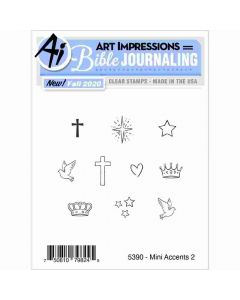 Mini Accents 2 Stamps - Bible Journaling - Art Impressions*
