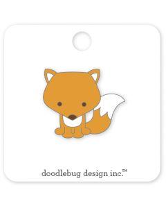 Foxy Collectible Pin - Pumpkin Spice - Doodlebug