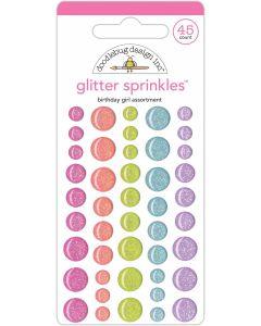 Birthday Girl Assortment Glitter Sprinkles