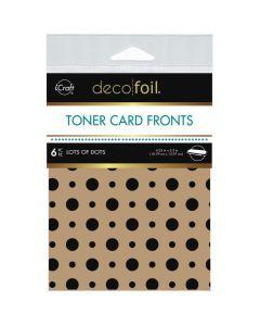 Kraft Toner Sheets, Lots of Dots - Deco Foil - Therm-O-Web