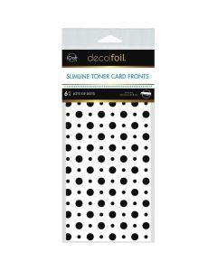 Slimline Toner Sheets, Lots of Dots - Deco Foil - Therm-O-Web