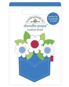 Pocket Full Of Posies Doodle-Pops - Land That I Love - Doodlebug
