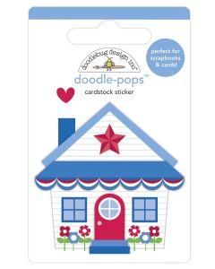 Cute Cottage Doodle-Pops - Land That I Love - Doodlebug