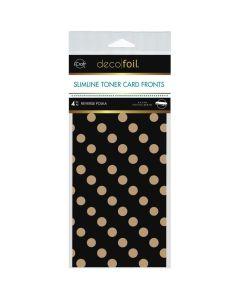 Kraft Slimline Toner Sheets, Reverse Polka - Deco Foil - Therm-O-Web