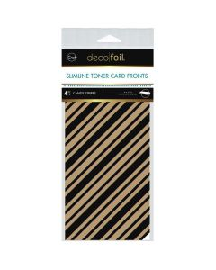 Kraft Toner Sheets, Candy Stripes - Deco Foil - Therm-O-Web