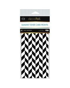 Slimline Toner Sheets, Chic Chevrons - Deco Foil - Therm-O-Web
