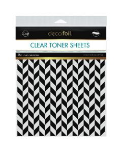 Clear Toner Sheets, Chic Chevrons - Deco Foil - Therm-O-Web