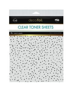 Clear Toner Sheets, Dainty Hearts - Deco Foil - Therm-O-Web