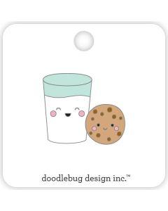 Doodlebug Milk & Cookies Collectible Pin