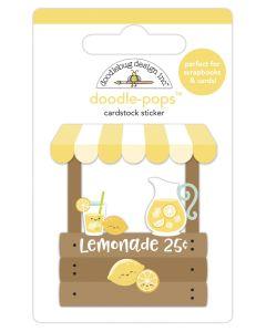 Lemonade Stand Doodle-Pops - Bar-B-Cute - Doodlebug