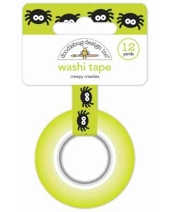 Doodlebug creepy crawlies washi tape