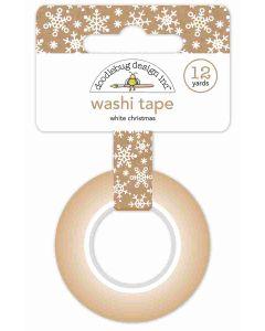Doodlebug White Christmas Washi Tape